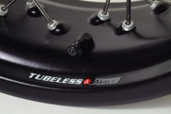 Alpina tubeless wheels for adventure bikes