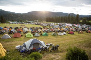 Touratech Rally camping