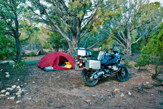 backcountry wild camping
