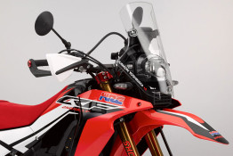 crf250 rally fuel tank windscreen