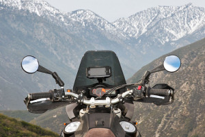 iPhone 5 Motorcycle Mount on dash