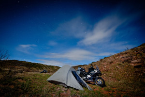 motorcycle camping tips finding a good camping spot
