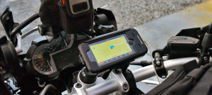 motorcycle iphone 5 mount