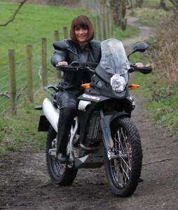 shorter rider female rider adventure bike