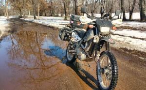 slick roads spring riding