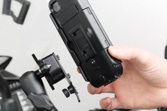 sw motech iphone 5 case quick release