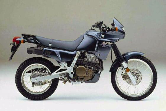 Best Used Adventure Motorcycle - Honda NX650