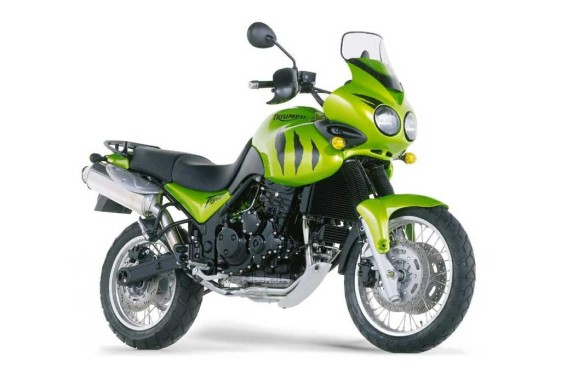Best used adventure motorcycle - Triumph Tiger 955i