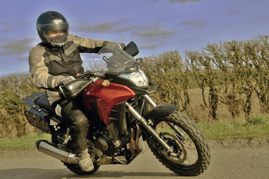 New Off Road Kit Makes The Honda Cb500x More Dirt Capable Adv Pulse