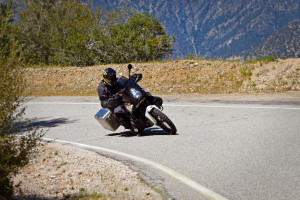 Plenty of ground clearance with Touratech panniers