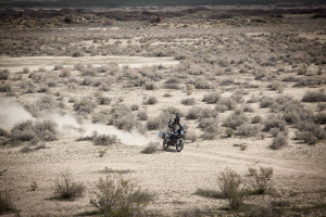 dust-proof panniers are important in the desert