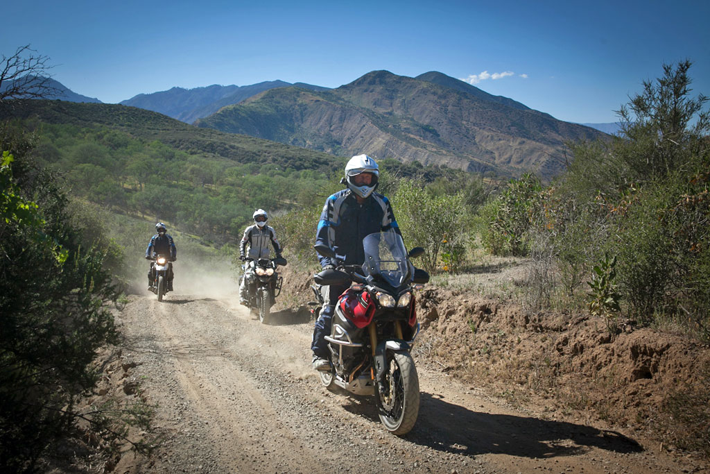 adventure motorcycle demo rides that let you get dirty