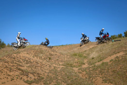 R1200GS off-road motorcycle test ride