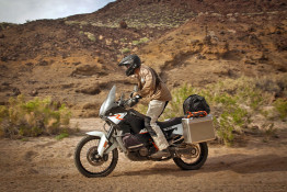 Safety with rounded edges motorcycle panniers