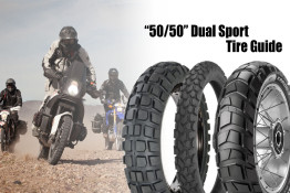 50/50 dual sport tire guide