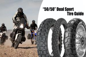 50/50 dual sport tire guide