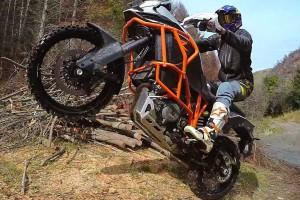 chris birch riding the ktm 1190 adventure r