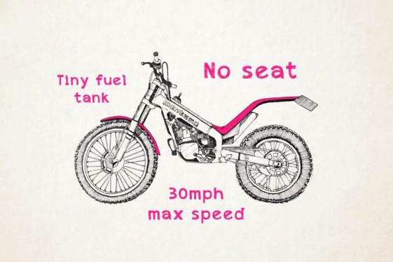 Montessa 315 trials bike