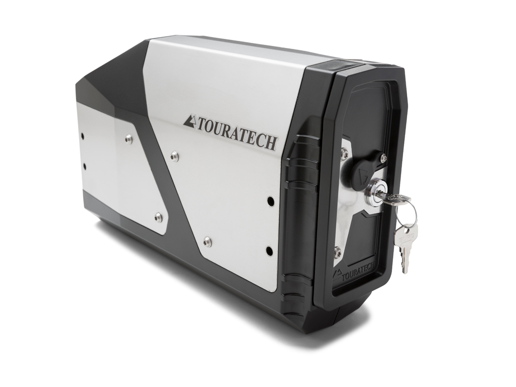 New Lockable Touratech Toolbox for the BMW R1200GS