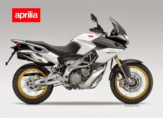 Best Dual Sport Motorcycle Concept: APRILIA 750 PEGASO V2 PROJECT