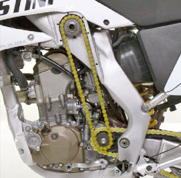 Christini Motorcycles AWD chain drive