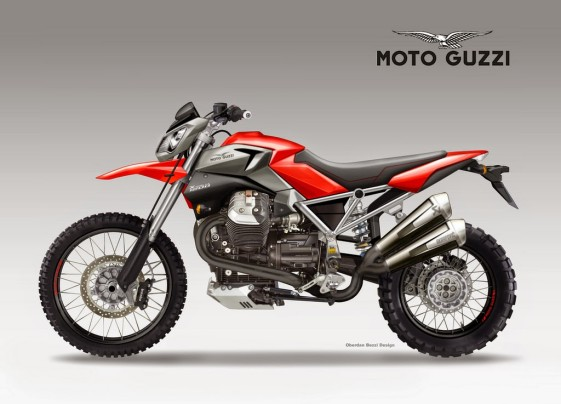 Best Dual Sport Motorcycle Concept: MOTO GUZZI X-RALLY 1200