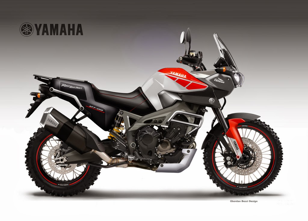 8 best dual sport motorcycle concepts by oberdan bezzi for Yamaha sport motorcycles