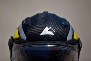 best adventure helmet gleam of carbon fiber weave