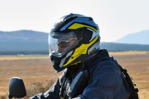 best adventure helmet riding with glasses