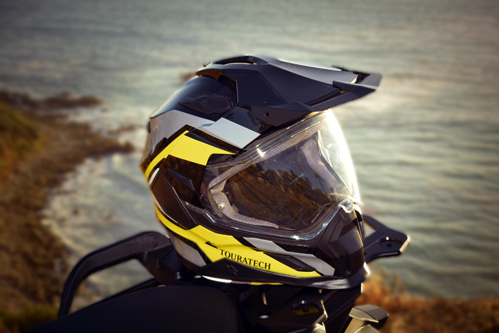 Bell Dual Sport Helmet >> Touratech Seeks Best Adventure Helmet Honors with Aventuro