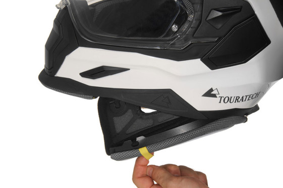 Touratech Helmet emergency quick release cheek pad