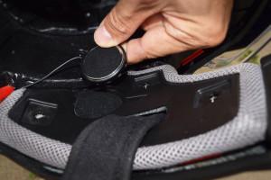 Touratech helmet speaker niches