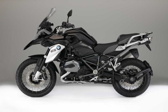 2016 BMW R1200GS Triple Black special edition