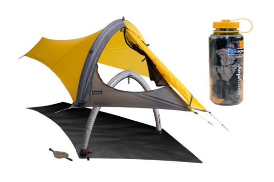 The lightweight NEMO GoGo Elite tent uses air instead of poles for support 1c5c8482ab97