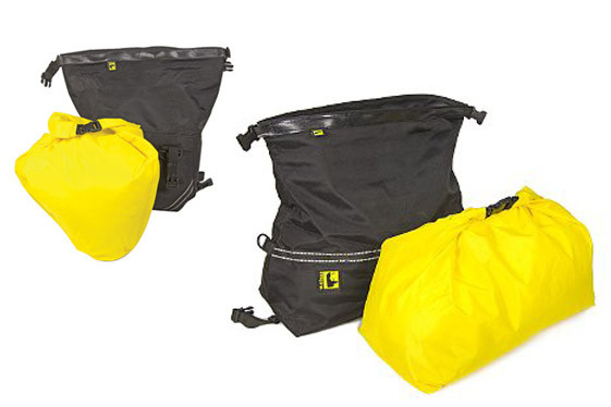 Wolfman Enduro Ultralight top duffel bag and saddlebags