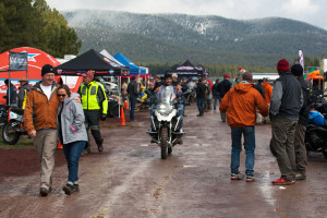 cold wet conditions at OX 2015