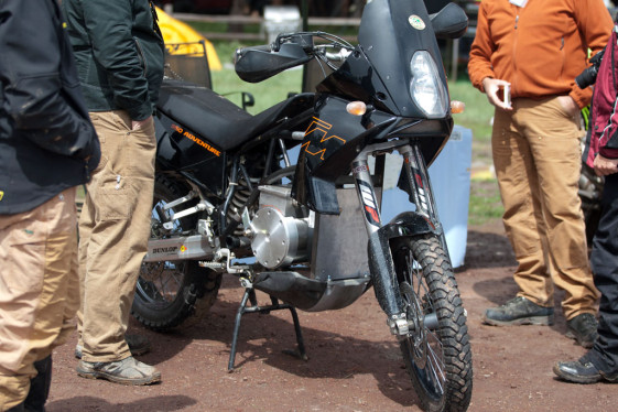 expedition electric ktm 950 adventure at Overland Expo 2015