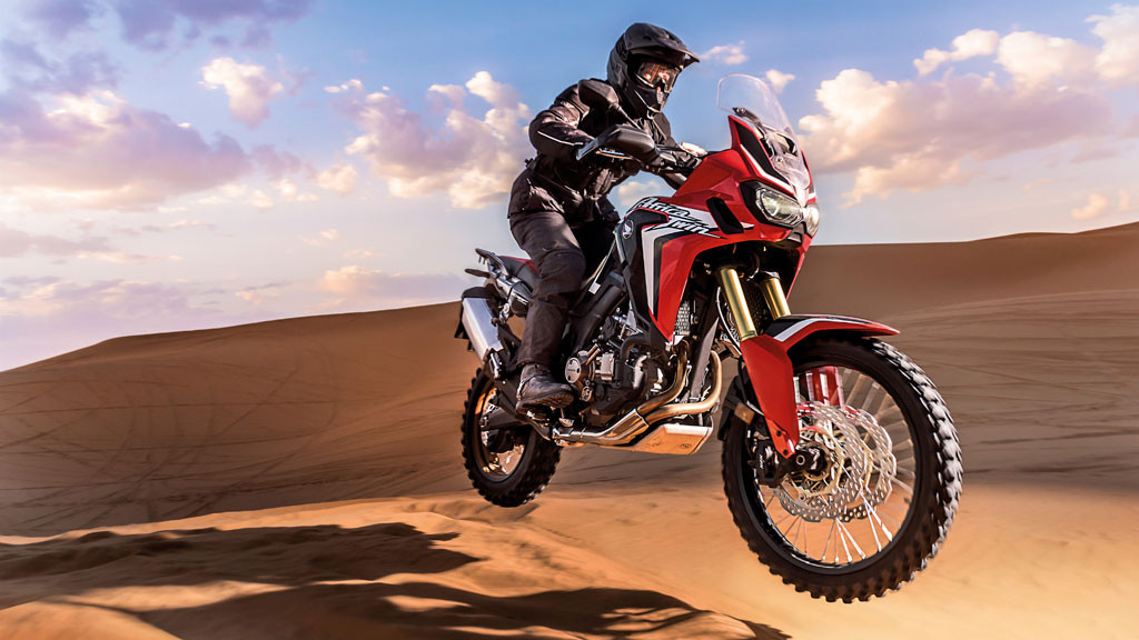 2016 Honda CRF1000L Africa Twin history