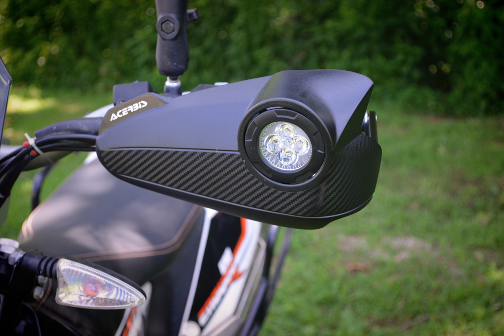 Vision Handguards Offer Two Adv Motorcycle Upgrades In One