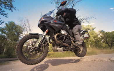 Moto Guzzi Stelvio 1200 NTX Review