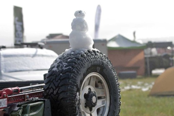 snowman at the overland expo 2015