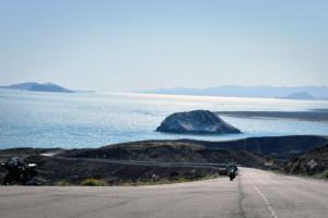 Baja Motorcycle Tour view Sea of Cortez