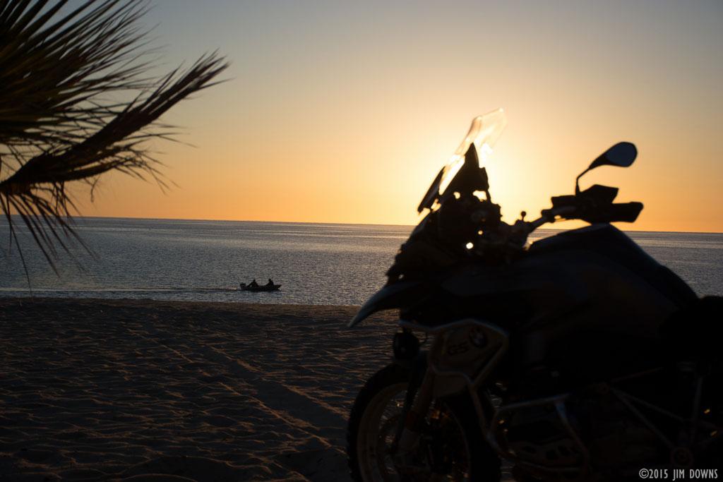 Image Gallery Motorcycle Sunrise