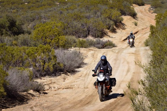 Mountain roads near Santa Veronica
