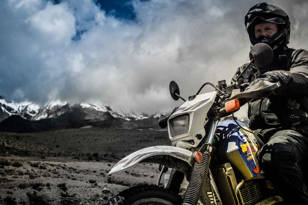 South American motorcycle tour in Ecuador