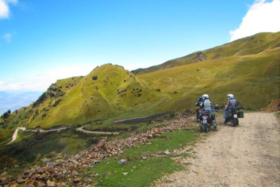 Adventure Motorcycle bucket list ride in Ecuador