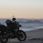 Sunset in San Quintin Baja Motorcycle Tours