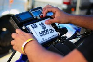 Dakar Rally equipment roadbook holder odometer