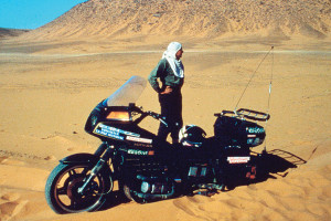 Emilio Scotto's Epic Around the world journey on a Goldwing