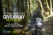 Win the off-road adventure giveaway